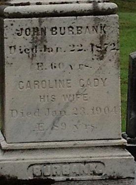 BURBANK, JOHN - Cheshire County, New Hampshire | JOHN BURBANK - New Hampshire Gravestone Photos