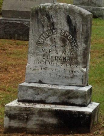 BURBANK, WILLIS SCOTT - Cheshire County, New Hampshire | WILLIS SCOTT BURBANK - New Hampshire Gravestone Photos