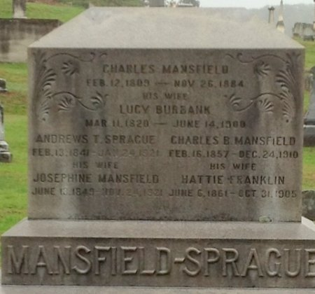 MANSFIELD, CHARLES - Cheshire County, New Hampshire | CHARLES MANSFIELD - New Hampshire Gravestone Photos