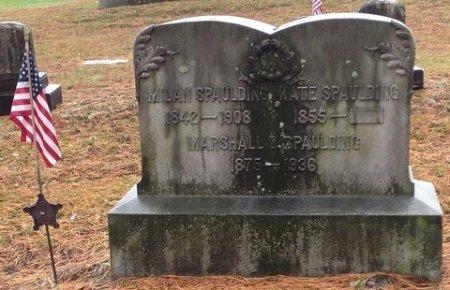 SPAULDING, MILAN DAUPHIN - Cheshire County, New Hampshire | MILAN DAUPHIN SPAULDING - New Hampshire Gravestone Photos