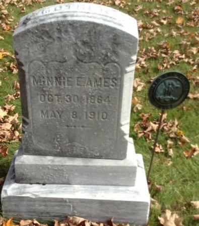 AMES, MINNIE E. - Grafton County, New Hampshire   MINNIE E. AMES - New Hampshire Gravestone Photos