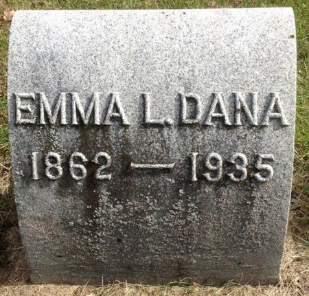 DANA, EMMA L. - Grafton County, New Hampshire | EMMA L. DANA - New Hampshire Gravestone Photos