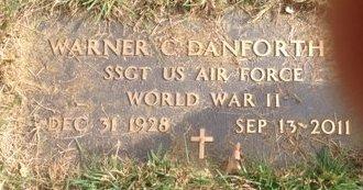 DANFORTH, WARNER C. - Grafton County, New Hampshire | WARNER C. DANFORTH - New Hampshire Gravestone Photos
