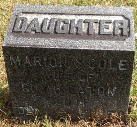 EATON, MARION S. - Grafton County, New Hampshire   MARION S. EATON - New Hampshire Gravestone Photos