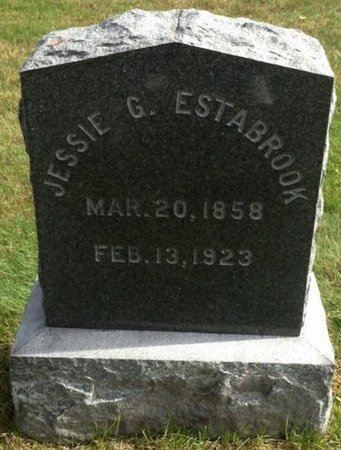 ESTABROOK, JESSIE G. - Grafton County, New Hampshire | JESSIE G. ESTABROOK - New Hampshire Gravestone Photos