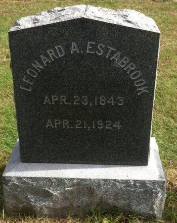 ESTABROOK, LEONARD A. - Grafton County, New Hampshire | LEONARD A. ESTABROOK - New Hampshire Gravestone Photos