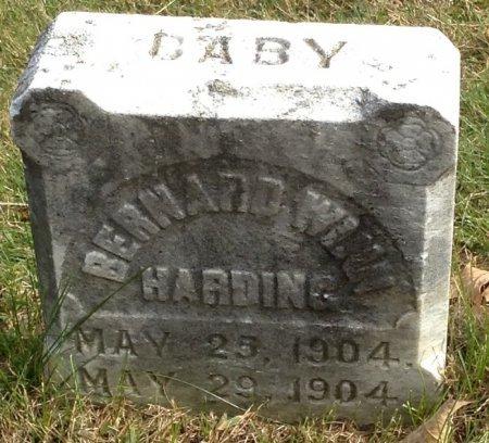 HARDING, BERNARD WINN - Grafton County, New Hampshire | BERNARD WINN HARDING - New Hampshire Gravestone Photos