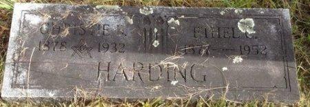 HARDING, ETHEL C. - Grafton County, New Hampshire   ETHEL C. HARDING - New Hampshire Gravestone Photos