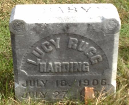HARDING, LUCY RUGG - Grafton County, New Hampshire | LUCY RUGG HARDING - New Hampshire Gravestone Photos