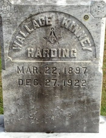 HARDING, WALLACE KENNEY - Grafton County, New Hampshire | WALLACE KENNEY HARDING - New Hampshire Gravestone Photos