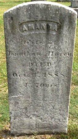 HURCY, AMANDA - Grafton County, New Hampshire   AMANDA HURCY - New Hampshire Gravestone Photos