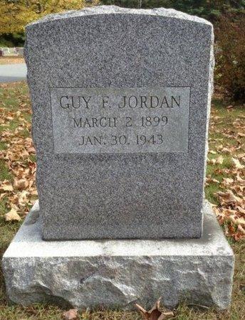 JORDAN, GUY F. - Grafton County, New Hampshire | GUY F. JORDAN - New Hampshire Gravestone Photos