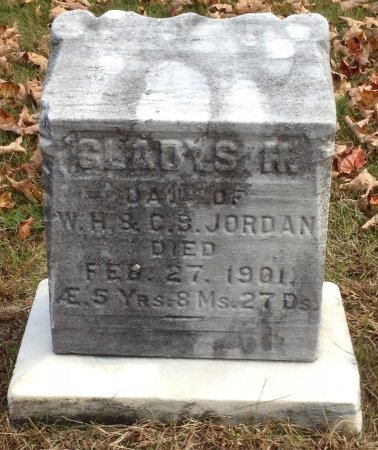 JORDAN, GLADYS RHODA - Grafton County, New Hampshire | GLADYS RHODA JORDAN - New Hampshire Gravestone Photos