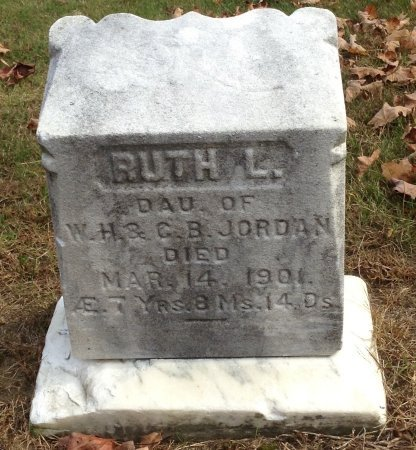 JORDAN, RUTH LENA - Grafton County, New Hampshire | RUTH LENA JORDAN - New Hampshire Gravestone Photos