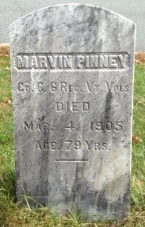 PINNEY, MARVIN - Grafton County, New Hampshire   MARVIN PINNEY - New Hampshire Gravestone Photos