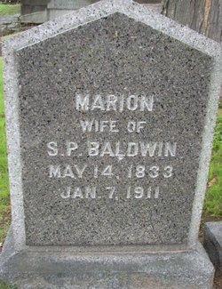 BALDWIN, MARION - Hillsborough County, New Hampshire   MARION BALDWIN - New Hampshire Gravestone Photos