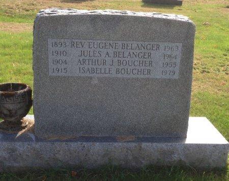 BOUCHER, ARTHUR J. - Hillsborough County, New Hampshire | ARTHUR J. BOUCHER - New Hampshire Gravestone Photos