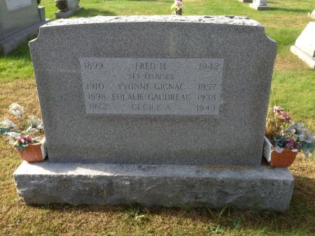 BLOW, CECILE A. - Hillsborough County, New Hampshire | CECILE A. BLOW - New Hampshire Gravestone Photos