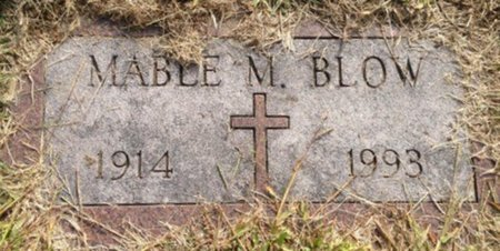 BLOW, MABLE - Hillsborough County, New Hampshire | MABLE BLOW - New Hampshire Gravestone Photos