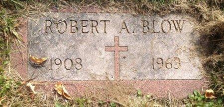 BLOW, ROBERT A. - Hillsborough County, New Hampshire | ROBERT A. BLOW - New Hampshire Gravestone Photos