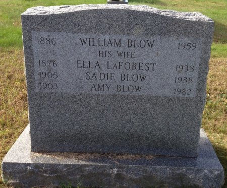 BLOW, ELLA - Hillsborough County, New Hampshire | ELLA BLOW - New Hampshire Gravestone Photos
