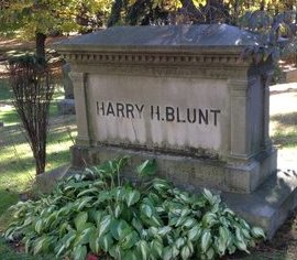 BLUNT, HARRY HARMON - Hillsborough County, New Hampshire | HARRY HARMON BLUNT - New Hampshire Gravestone Photos