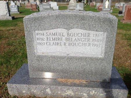 BOUCHER, CLAIRE R. - Hillsborough County, New Hampshire   CLAIRE R. BOUCHER - New Hampshire Gravestone Photos