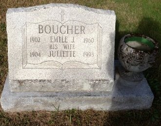 BOUCHER, EMILE J. - Hillsborough County, New Hampshire | EMILE J. BOUCHER - New Hampshire Gravestone Photos