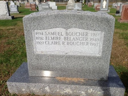 BOUCHER, ELMIRE - Hillsborough County, New Hampshire | ELMIRE BOUCHER - New Hampshire Gravestone Photos