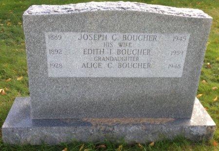 BOUCHER, JOSEPH C. - Hillsborough County, New Hampshire   JOSEPH C. BOUCHER - New Hampshire Gravestone Photos