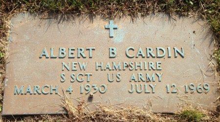 CARDIN, ALBERT B - Hillsborough County, New Hampshire | ALBERT B CARDIN - New Hampshire Gravestone Photos