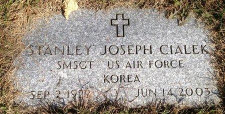 CIALEK, STANLEY JOSEPH - Hillsborough County, New Hampshire | STANLEY JOSEPH CIALEK - New Hampshire Gravestone Photos