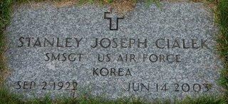 CIALEK (VETERAN), STANLEY JOSEPH - Hillsborough County, New Hampshire | STANLEY JOSEPH CIALEK (VETERAN) - New Hampshire Gravestone Photos