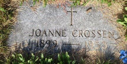 CROSSEN, JOANNE - Hillsborough County, New Hampshire | JOANNE CROSSEN - New Hampshire Gravestone Photos