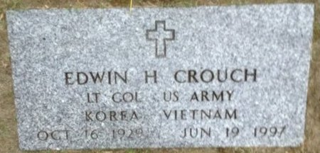 CROUCH, EDWIN H. - Hillsborough County, New Hampshire | EDWIN H. CROUCH - New Hampshire Gravestone Photos
