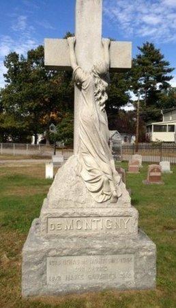 DEMONTIGNY, MARIE M. - Hillsborough County, New Hampshire | MARIE M. DEMONTIGNY - New Hampshire Gravestone Photos