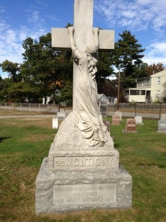 DEMONTIGNY, OSIAS - Hillsborough County, New Hampshire | OSIAS DEMONTIGNY - New Hampshire Gravestone Photos