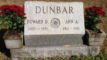 DUNBAR, DUWARD DUNCAN - Hillsborough County, New Hampshire   DUWARD DUNCAN DUNBAR - New Hampshire Gravestone Photos