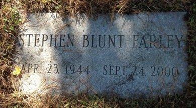 FARLEY, STEPHEN BLUNT - Hillsborough County, New Hampshire   STEPHEN BLUNT FARLEY - New Hampshire Gravestone Photos