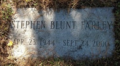 FARLEY, STEPHEN BLUNT - Hillsborough County, New Hampshire | STEPHEN BLUNT FARLEY - New Hampshire Gravestone Photos