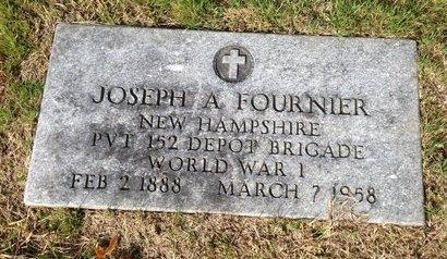 FOURNIER, JOSEPH A. - Hillsborough County, New Hampshire | JOSEPH A. FOURNIER - New Hampshire Gravestone Photos