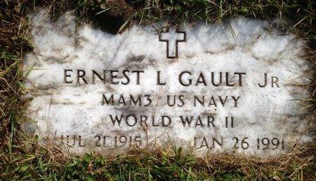 GAULT, ERNEST LEROY, JR. - Hillsborough County, New Hampshire | ERNEST LEROY, JR. GAULT - New Hampshire Gravestone Photos