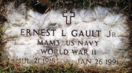 GAULT JR, ERNEST LEROY - Hillsborough County, New Hampshire | ERNEST LEROY GAULT JR - New Hampshire Gravestone Photos