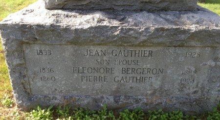 GAUTHIER, ELEONORE - Hillsborough County, New Hampshire | ELEONORE GAUTHIER - New Hampshire Gravestone Photos
