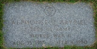 GRYGIEL, ALPHONSE JOHN - Hillsborough County, New Hampshire   ALPHONSE JOHN GRYGIEL - New Hampshire Gravestone Photos