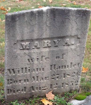 HAMLET, MARY A. - Hillsborough County, New Hampshire | MARY A. HAMLET - New Hampshire Gravestone Photos
