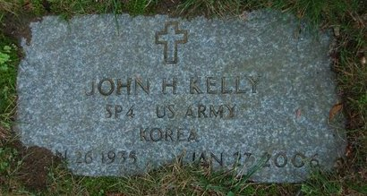 KELLY, JOHN H. (MILITARY) - Hillsborough County, New Hampshire | JOHN H. (MILITARY) KELLY - New Hampshire Gravestone Photos