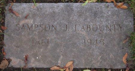 LABOUNTY, JOHN SAMPSON - Hillsborough County, New Hampshire | JOHN SAMPSON LABOUNTY - New Hampshire Gravestone Photos