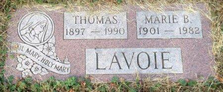 LAVOIE, MARIE B. - Hillsborough County, New Hampshire | MARIE B. LAVOIE - New Hampshire Gravestone Photos