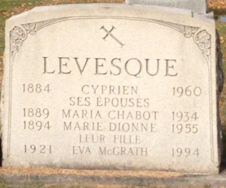 LEVESQUE, MARIA - Hillsborough County, New Hampshire | MARIA LEVESQUE - New Hampshire Gravestone Photos